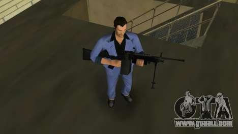M249 из Battlefield 2 for GTA Vice City fifth screenshot