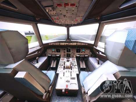 Airbus A320 Cebu Pacific Air for GTA San Andreas engine