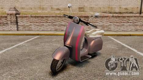 GTA V Pegassi Faggio for GTA 4