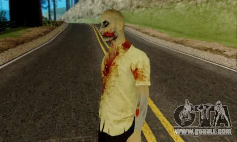 Zombies from GTA V for GTA San Andreas second screenshot