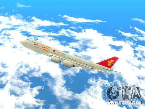 Boeing 747 Air China for GTA San Andreas left view