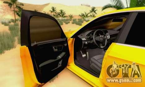 Mercedes-Benz E63 AMG for GTA San Andreas wheels