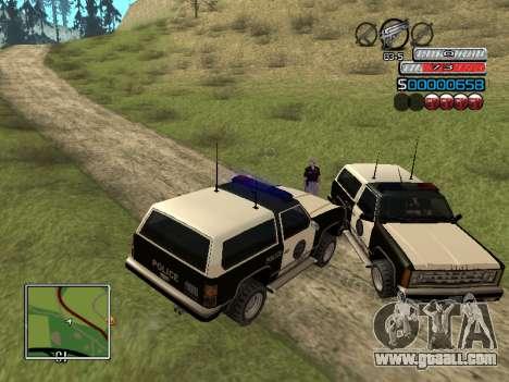 The new C-HUD for GTA San Andreas sixth screenshot