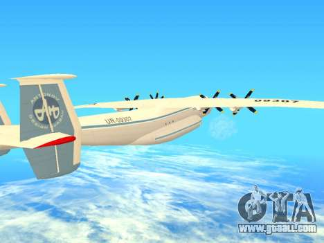 An-22 Antei for GTA San Andreas upper view