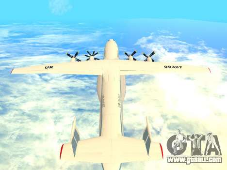 An-22 Antei for GTA San Andreas right view