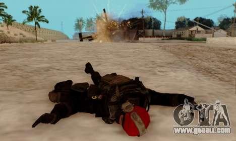 Kopassus Skin 1 for GTA San Andreas