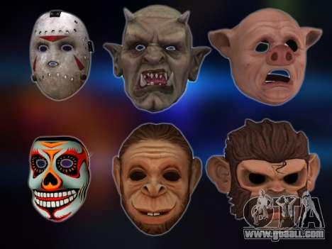 GTA V Masks for GTA San Andreas