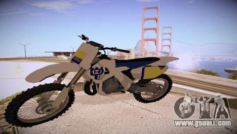 Husqvarna 125 1990 for GTA San Andreas