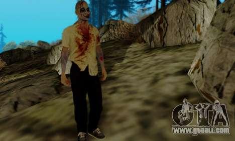 Zombies from GTA V for GTA San Andreas third screenshot