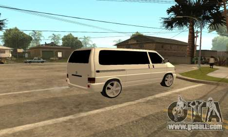 Volkswagen T4 Transporter for GTA San Andreas right view