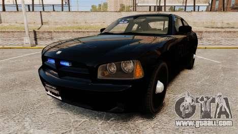 Dodge Charger Slicktop Police [ELS] for GTA 4
