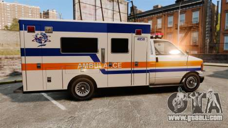 Brute CHMC Ambulance for GTA 4 left view