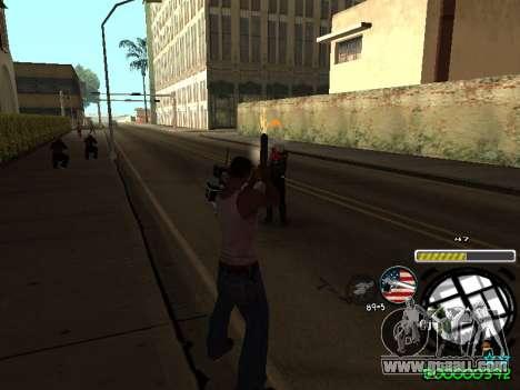 C-HUD Andy Cardozo for GTA San Andreas