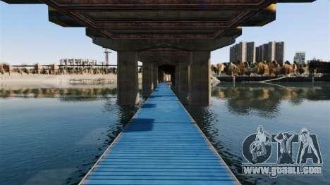 The road under the bridge for GTA 4