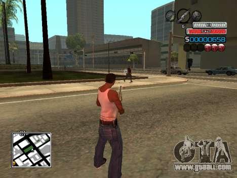 The new C-HUD for GTA San Andreas forth screenshot