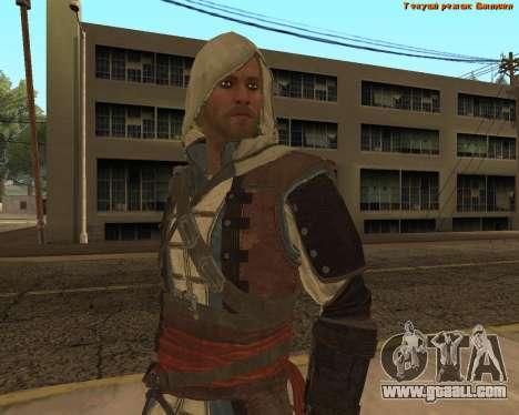 Assassin Edward for GTA San Andreas fifth screenshot