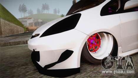 Honda Jazz RS Street Edition for GTA San Andreas right view