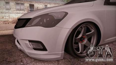 Kia Ceed 2011 SA Plates for GTA San Andreas right view
