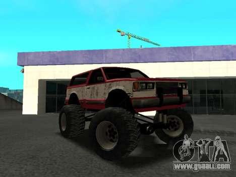 Street Monster for GTA San Andreas