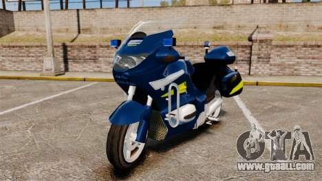 BMW R1150RT Gendarmerie [ELS] for GTA 4