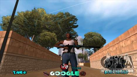 C-HUD Google for GTA San Andreas