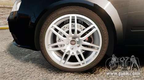 Audi S4 Avant TEK [ELS] for GTA 4 back view