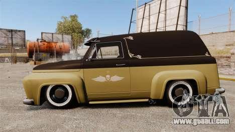 Vapid Slamvan for GTA 4 left view