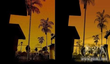 HD card, radar and menu for GTA San Andreas forth screenshot
