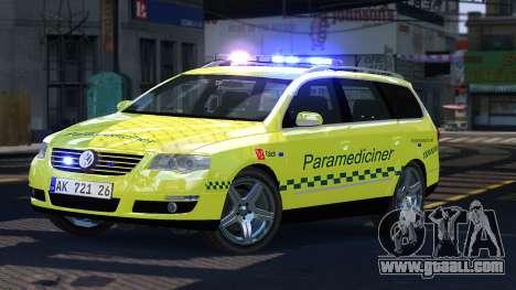 Volkswagen Passat Variant 2010 Paramedic [ELS] for GTA 4