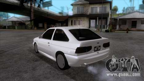 Ford Escort 1996 for GTA San Andreas back left view