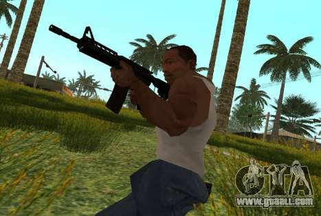 M4 CQB for GTA San Andreas forth screenshot