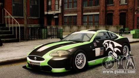 Jaguar XKR GT for GTA 4