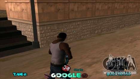 C-HUD Google for GTA San Andreas second screenshot
