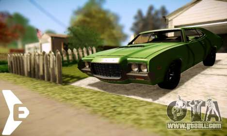 Ford Gran Torino 1972 for GTA San Andreas right view