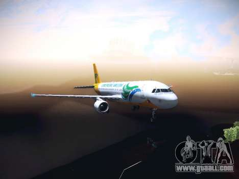 Airbus A320 Cebu Pacific Air for GTA San Andreas
