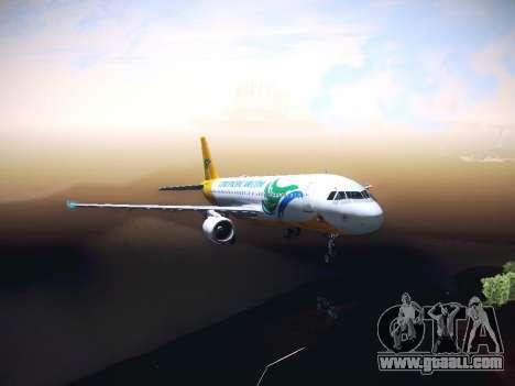 Airbus A320 Cebu Pacific Air for GTA San Andreas