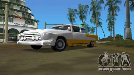 Oceanic with improved texture for GTA Vice City back left view