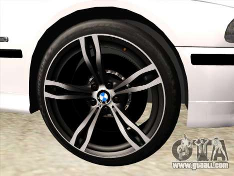 BMW 530d E39 for GTA San Andreas upper view