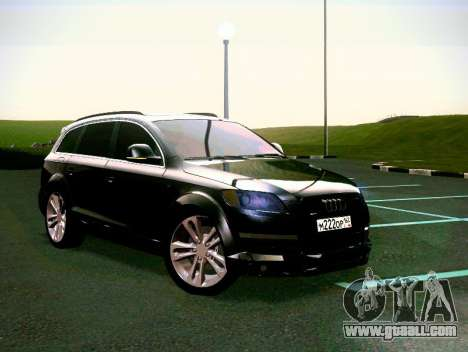 Audi Q7 for GTA San Andreas