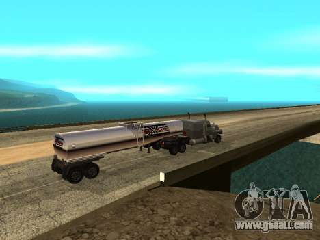Anti-uncoupling trailer for GTA San Andreas third screenshot