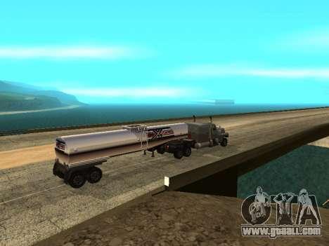 Anti-uncoupling trailer for GTA San Andreas third screenshot