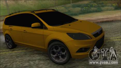 Ford Focus 2008 Station Wagon-Stock for GTA San Andreas