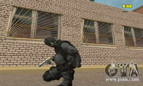 Archer from game Splinter Cell Conviction for GTA San Andreas third screenshot