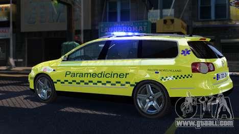 Volkswagen Passat Variant 2010 Paramedic [ELS] for GTA 4 left view