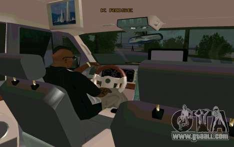 Lincoln Navigator DUB Edition for GTA San Andreas back left view