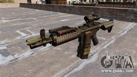 Automatic M4 carbine for GTA 4 third screenshot