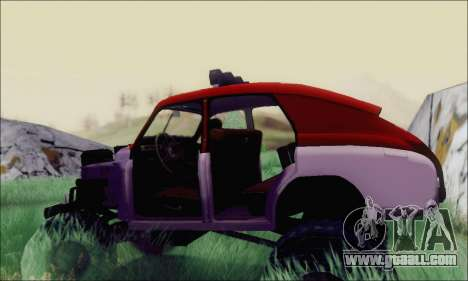 GAS M20 Monster for GTA San Andreas right view