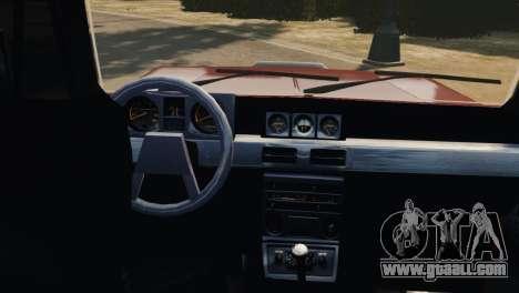Mitsubishi Pajero I WAGON for GTA 4 inner view