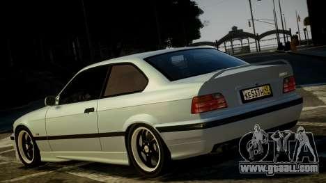 BMW M3 E36 328i for GTA 4 back left view