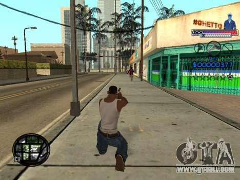 The new C-HUD Ghetto for GTA San Andreas sixth screenshot
